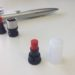 ネームペンのインク補充方法(カートリッジ交換)